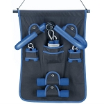 6-Piece Fitness Set with Hanging Display Storage