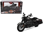 Maisto 2017 Harley Davidson King Road Special Black Motorcycle Model 1/12 by Maisto