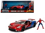 2017 Ford GT with Spider Man Diecast Figure