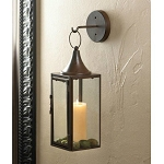 Iron Hanging Candle Lantern and Hook