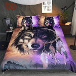 Wolf Bedding Set Dreamcatcher