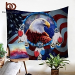 Eagle Tapestry 3D Print Wall Hanging Dreamcatcher