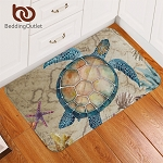Soft Rug Sea Turtle Floor Mat