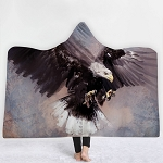 Eagle Hooded Blanket