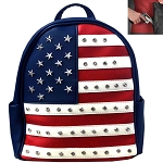 Concealed Carry U.S.Flag Patriotic Theme Backpack