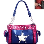 Concealed Carry Western Lone Star Tooling Shoulder Bag