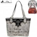 Montana West Spiritual Collection Concealed Carry Tote